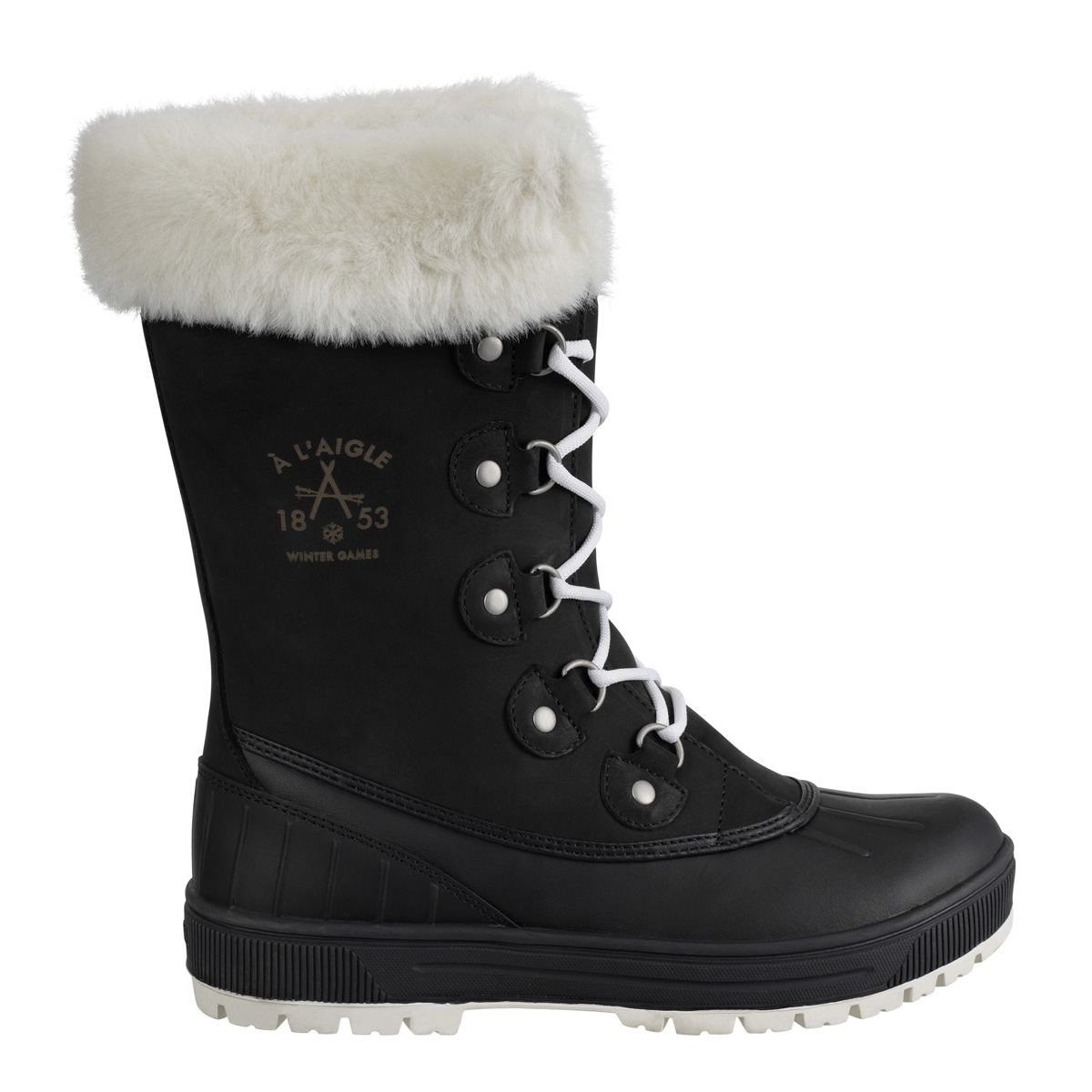 Black Snow Boots For Women - Yu Boots