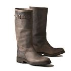Image of Aigle Chantebelle Suede Leather Boot (Women's) - Dark Brown