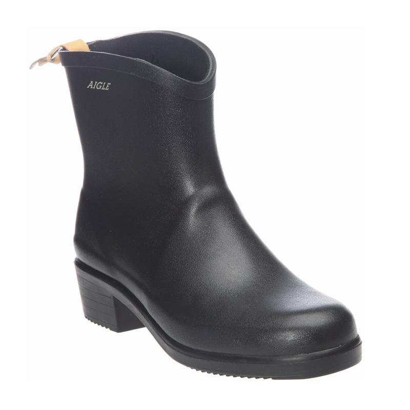 aigle miss juliette bottillon ankle boot s noir