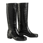 Aigle 'Miss Juliette' Croco Boots (Womens)