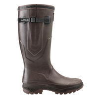 Image of Aigle Parcours 2 ISO Wellington Boots (Unisex) - Brun (Brown)