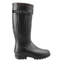Image of Aigle Parcours 2 ISO Wellington Boots (Unisex) - Noir (Black)