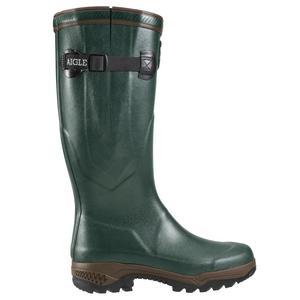 Image of Aigle Parcours 2 Vario Wellington Boots (Unisex) - Bronze (Dark Green)