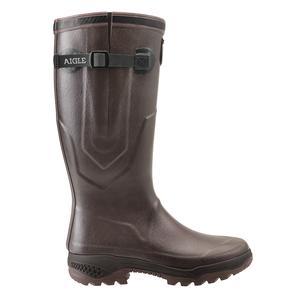 Image of Aigle Parcours 2 Vario Wellington Boots (Unisex) - Brun (Brown)