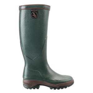 Image of Aigle Parcours 2 Wellington Boots (Unisex) - Bronze (Dark Green)