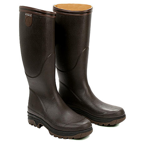 Image of Aigle Parcours Lady Wellington Boots (Women's) - Brun (Brown)