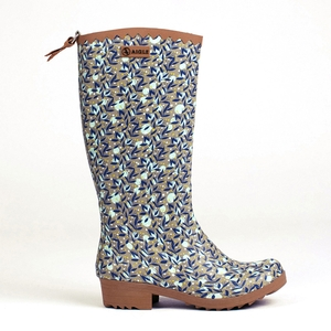 Image of Aigle Victorine Print Wellingtons (Women's) - Betsy