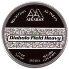 Air Arms Diabolo Field PLUS HEAVY .22 (5.52) Pellets x 250