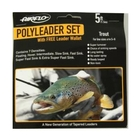Airflo Polyleader Set - 5ft - Trout