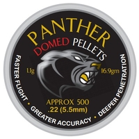 AirForceOne Panther Domed .22 Pellets x 500