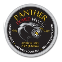 AirForceOne Panther Domed .177 Pellets x 500