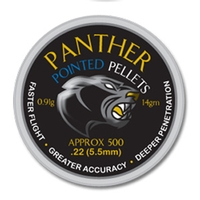 AirForceOne Panther Pointed .22 Pellets x 500