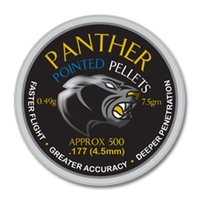 AirForceOne Panther Pointed .177 Pellets x 500