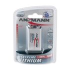 Ansmann 9V Block - Extremme Lithium Non Rechargable Batteries