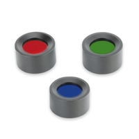 Ansmann Agent 1 Colour Filters - Set of Three Filters (Green, Red, Blue)