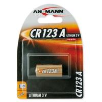 Ansmann CR123A - 1x Lithium 3V Battery