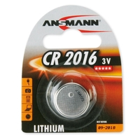 Ansmann CR2016 - 1x Lithium 3V Coin Battery