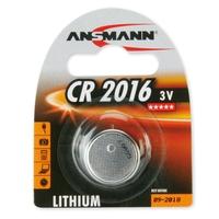 Ansmann CR2016 - 1x Lithium 3V Coin Battery