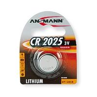 Ansmann CR2025 - 1x Lithium 3V Coin Battery