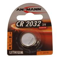 Ansmann CR2032 - 1x Lithium 3V Coin Battery