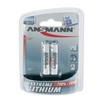 Ansmann 2 x AAA Size - Extremme Lithium Non Rechargable Batteries