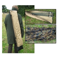 Anson & Deeley Pigeon Hide Set (4x Hide Poles & Net in Carrybag)