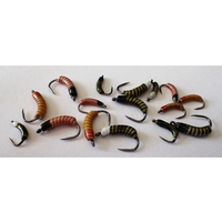 Barbless Flies Ceramic Trout Selection