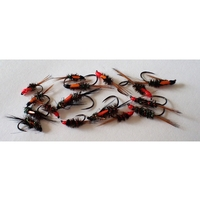 Barbless Flies Diawl Bach Selection