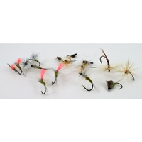 Barbless Flies Olive Fly Selection