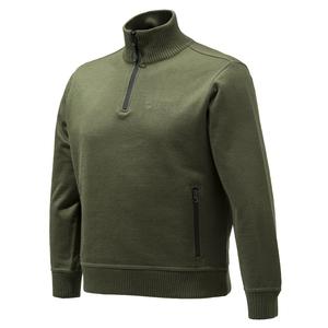 Image of Beretta Technowindshield Half Zip Sweater - Green