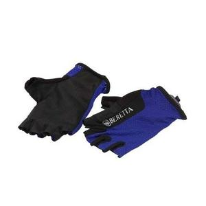 Image of Beretta Fingerless Shooting Gloves - Blue/Total Eclipse