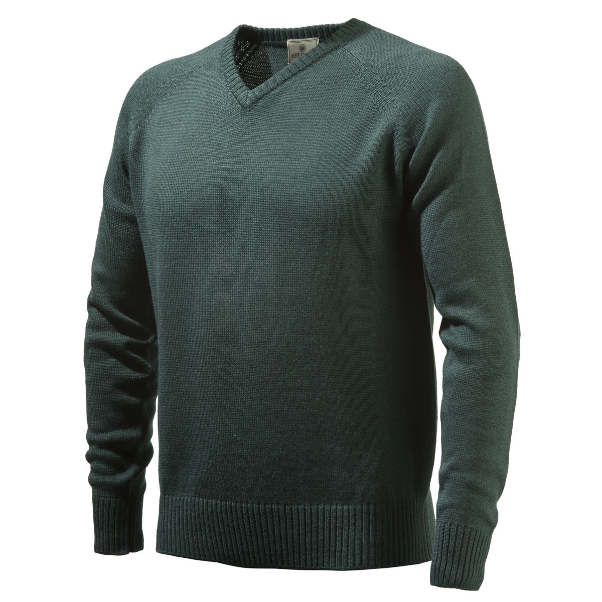 beretta v neck sweater dark green. Black Bedroom Furniture Sets. Home Design Ideas