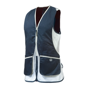 Image of Beretta Womens Silver Pigeon Vest - Navy / White