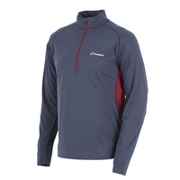 Berghaus Tech Tee Long Sleeved Zip Neck (Men's)