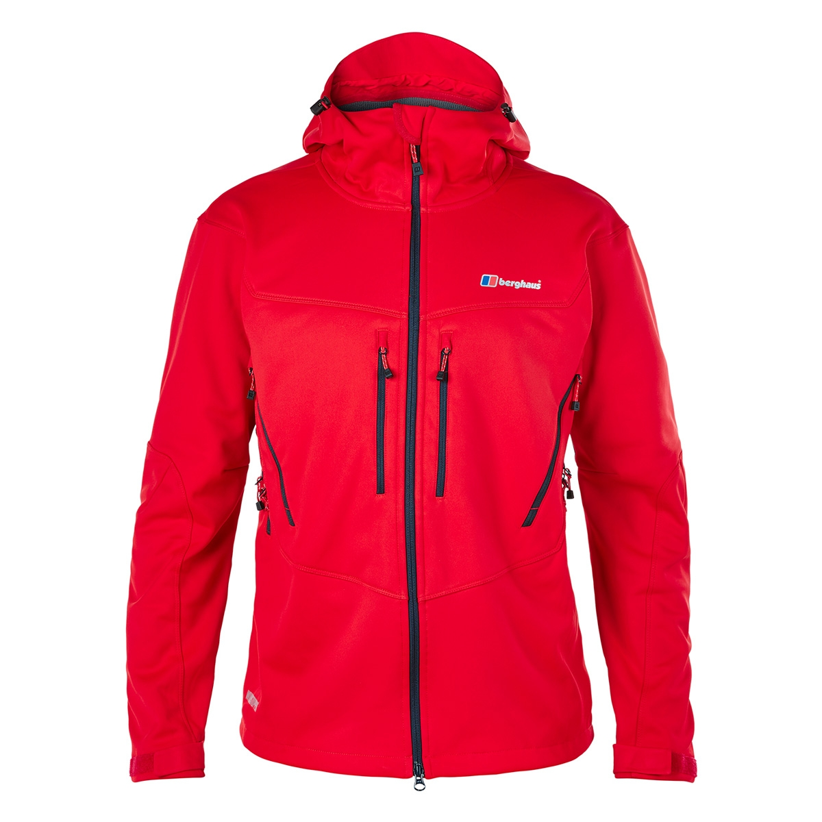berghaus winter valparola softshell jacket men 39 s red. Black Bedroom Furniture Sets. Home Design Ideas
