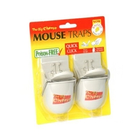 Big Cheese Quick Click RTU Mouse Trap (2 Pack)