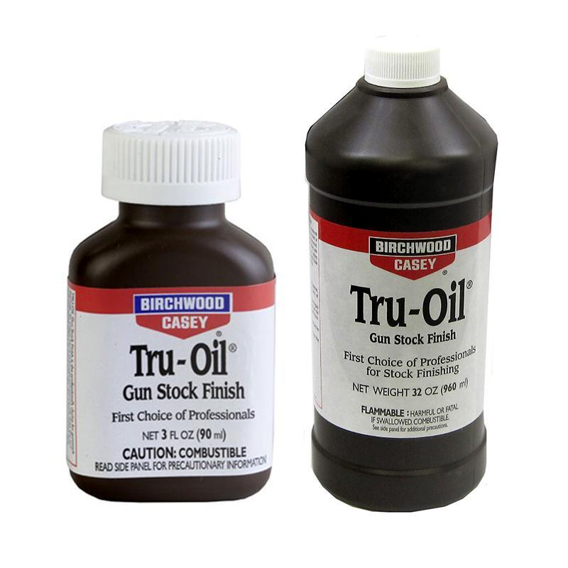birchwood casey tru oil instructions