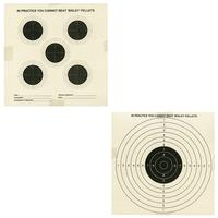 Bisley Double Sided Paper Targets