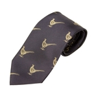 Bisley Pheasants Silk Tie