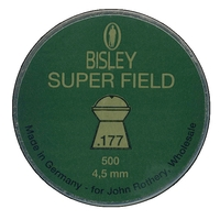 Bisley Super Field .177 Pellets x 500