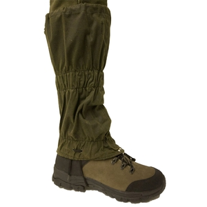 Image of Bisley Wax Gaiters - Green