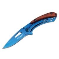 Boker Magnum Deep Blue Folder Knife