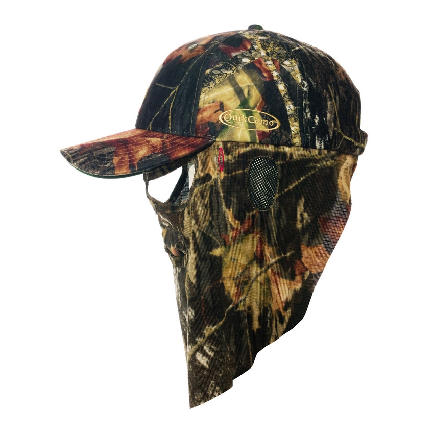 Browning face mask cap mossy oak infinity camo - Voile d ombrage camouflage ...