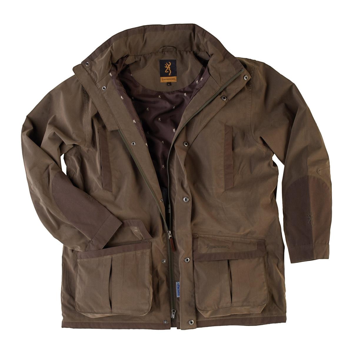 Browning Upland Hunter 2 Parka Jacket - Green | Uttings.co.uk