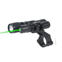 BSA Stealth Tactical Heavy Duty Green Laser/Torch Set