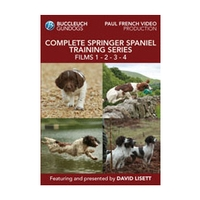 Buccleuch Gundogs Complete Springer Spaniel Training Series Boxed Set DVD