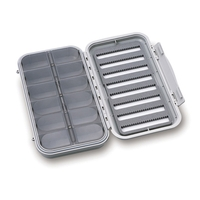 C&F Design Large Waterproof 8 Row/12 Compartment Fly Box