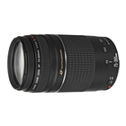 Canon EF 75-300mm f/4.0-5.6 USM III Filter Size 58mm Lens