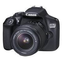 Canon EOS 1300D SLR Camera with AF-S 18-55mm IS II Lens