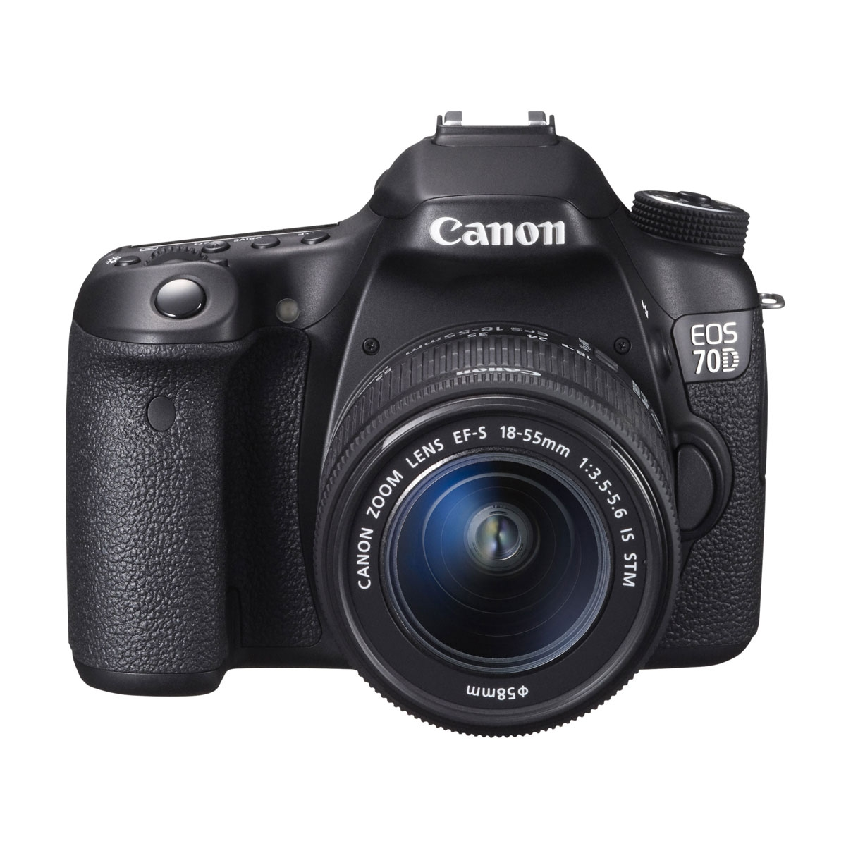 Canon EOS 70D SLR Camera With EF S 18 55mm Lens